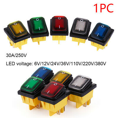 16A/250V 4 pin DPST ON-OFF T85 Toggle Rocker Switch