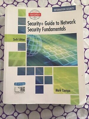 Security + Guide to Network Security Fundamentals 6th Ed. By Ciampa 1337288780