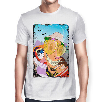 abb080404 Ren And Stimpy In Vegas Funny T-Shirt, Fear And Loathing In Las Vegas