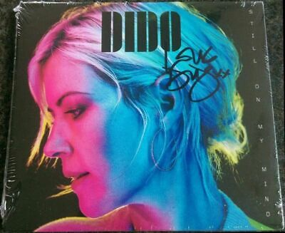 DIDO - Still On My Mind - CD - Autographed / Signed by Dido  - NEW&SEALED - NEUF