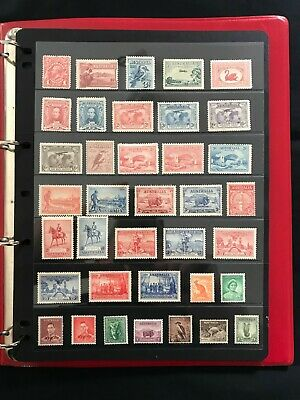 1914 Australia Pre Decimal Collection On 6 Pages Mint Never Hinged & Mint Hinged