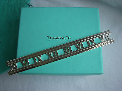 "Tiffany & Co. Sterling Silver ""atlas"" Collection Bookmark!!!"