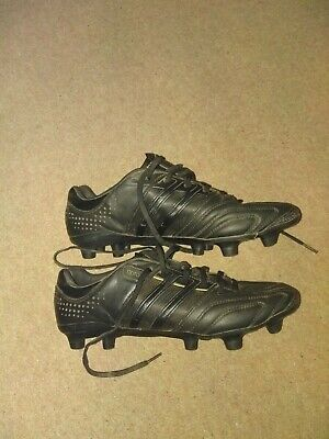 ADIDAS ADIPURE 11 Pro Black football boots men's size 8