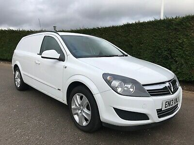 2013 VAUXHALL ASTRA VAN 1.7cdti SPORTIVE, 1 OWNER FROM NEW, ONLY 78,000 MILES