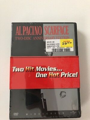 SCARFACE TWO-DISC ANNIVERSARY EDITION+ Fast N Furious tricked out DVD NEW SEALED