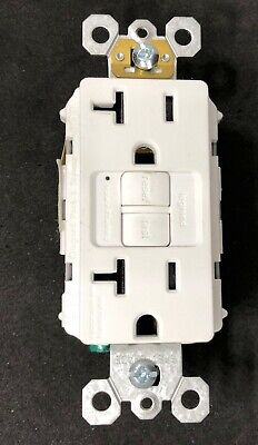 Legrand Pass Seymour 2097TRW Tamper Resistant GFCI 20A WHITE FREE SHIPPING