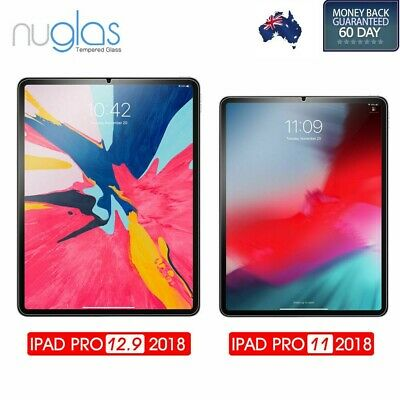 Genuine NUGLAS Tempered Glass Screen Protector for iPad Pro 11/12.9-inch (2018)