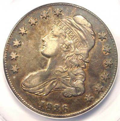1836 Capped Bust Half Dollar 50C O-106 - ANACS XF45 (EF45) - Rare Certified Coin