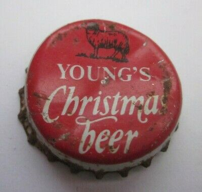 """ancienne capsule """" YOUNG'S  CHRISTMAS BEER """" à saisir"""