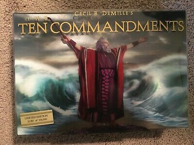The Ten Commandments Limited Edition 6-Disc - Bluray/DVD Combo - SEE PICS!
