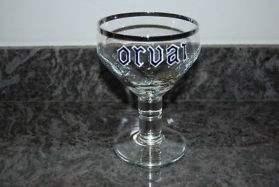 Orval Ancien Verre Emaille En Cristal. Orvai  Ii
