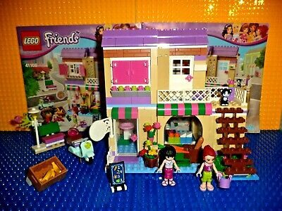 Lego 41108 Heartlake Food Market Friends Complete Minifigures
