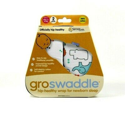 Tommee Tippee Groswaddle - Manta Envolvente / 0-3 Meses - Pack 2 Unidades(Nuevo)