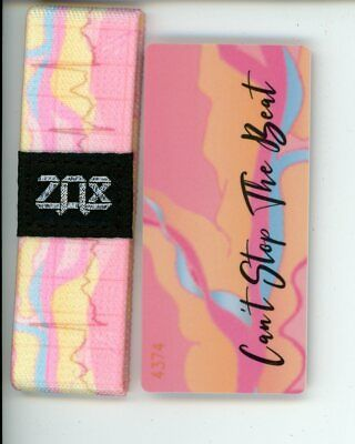 Silver Zox Strap SPREAD YOUR WINGS Card Included DISCOUNTED PRICE!