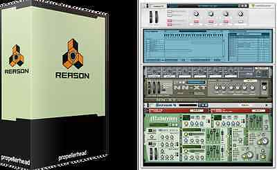 Reason 4,Full version on DVD -Mac and Windows *****************