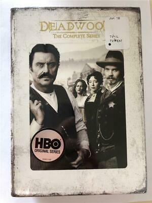 NEW Deadwood - The Complete Series (DVD, 2013, 19-Disc Set) HBO