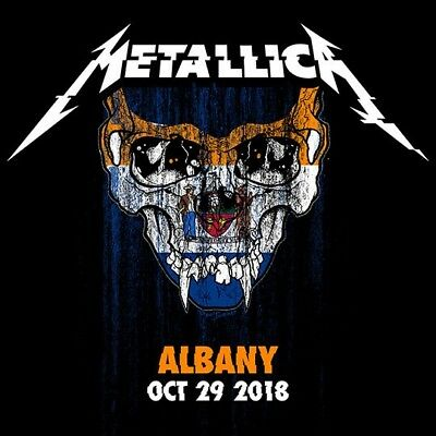 METALLICA / World Wired Tour / LIVE / Times Union - Albany,NY - October 29, 2018