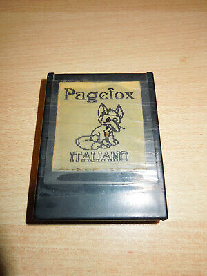 Pagefox software (Italiano) cartuccia per Commodore 64