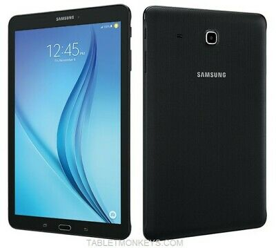 "EXCELLENT Samsung Galaxy Tab E 8"" T377A 16GB Black WIFI + AT&T GSM Unlocked"