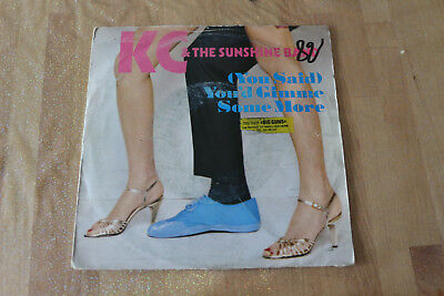 kc & the sunshine band - (you said) you'd gimme some more   45t
