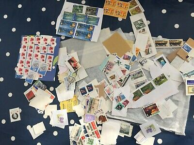 World unused and mint stamps big lot massive face value need sorted £££££