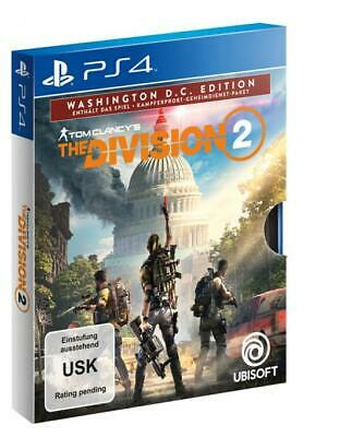 Tom Clancy's The Division 2 Washington D.C. Edition   PS4 NEU + OVP