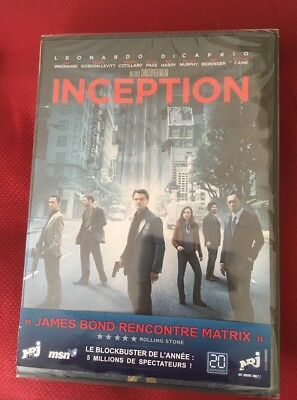 "DVD ""INCEPTION"" - Neuf, sous blister !!!"