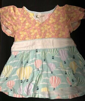 Matilda Jane Hello Lovely Flying Higher Top Size 18-24 Month EUC