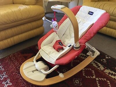 Chicco I Feel Bouncer In Good Condition , Washed Already . 😇😇