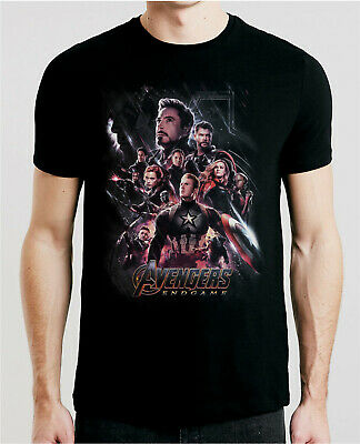 Avengers Endgame 2019 Movie T-Shirt Xs-5Xl Fast Free Shipping Inspired Poster