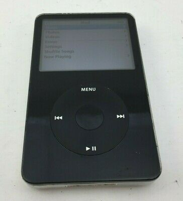 Apple iPod Classic A1136 5th Generation 80GB Black Tested & Working