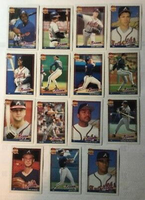1991 Topps 40 Years Of Baseball Cardinals And Cubs Set Of 15 Cards