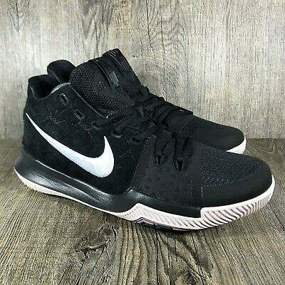 online store 503c8 c518f NEW Nike Kyrie 3 Black 852395-010 Basketball Shoes Men s sz 9.5  Silt Red