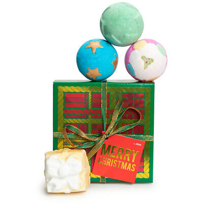 Lush - Merry Christmas Gift Set Brand New Christmas Limited Edition