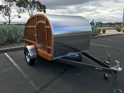 *** New Teardrop Camper ***