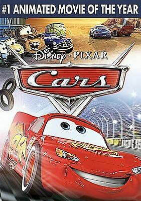 Cars (DVD, 2006, Full Frame) Excellent Condition