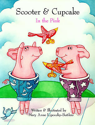 SCOOTER & CUPCAKE: IN THE PINK Children's Friendship Book Signed & Personalized