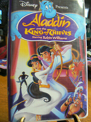 Disney Aladdin And The King Of Thieves Vhs 4609
