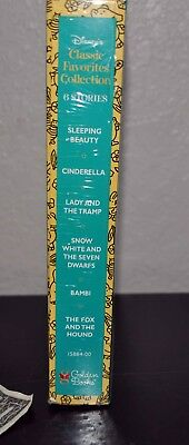 Disney's Classic Collection. 6 Golden Books. Factory-Sealed. Cinderella Bambi