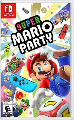 Super Mario Party Nintendo Switch BRAND NEW FACTORY SEALED FREE SHIPPING