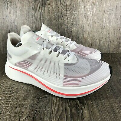 check out 8014a 55b87 Mens Nike Zoom Fly SP Running Shoes White Bright Crimson AJ9282 106  Athletic Shoes Clothing, ...