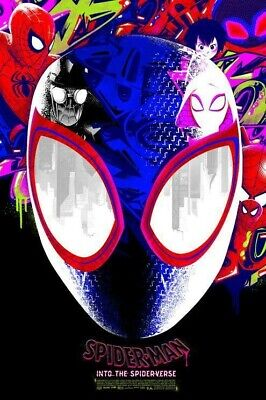 Spider-Man Into The Spider-Verse Anthony Petrie Poster LE 200 In Hand New
