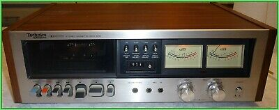Vintage Technics RS-630 US cassette deck w/manual beautiful tested working!