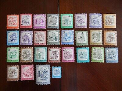 A Series of Old MNH Stamps from Austria 1970's and 80's (CV $53)
