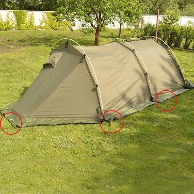 British Army 4 Man Arctic Dome Tent PEGS Used