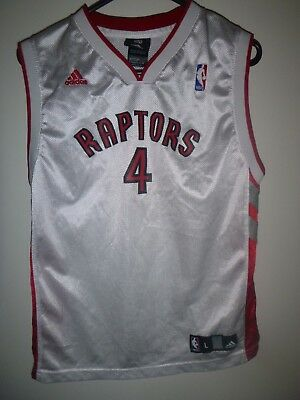 3578515962f CHRIS BOSH #4 Toronto Raptors Stitched NBA Adidas Swingman Jersey ...