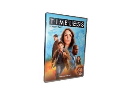 Timeless: The Complete Second Season 2 (DVD, 2018, 3-Disc Set)