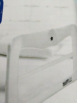 Child Bed Guard Rail white Childcare brand, ideal for travel, bedguard