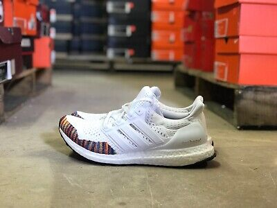 b5fb95773be10 Adidas UltraBOOST LTD Limited Running Shoes White Multicolor BB7800 Multiple  Szs
