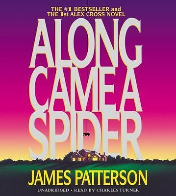 ALONG CAME A SPIDER unabridged audio book on CD by JAMES PATTERSON - Brand New!